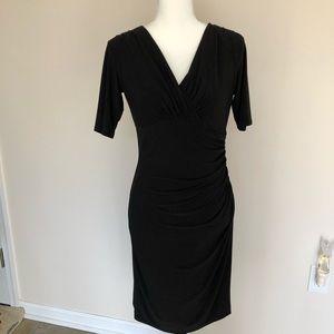 Little Black Short Sleeve Dress